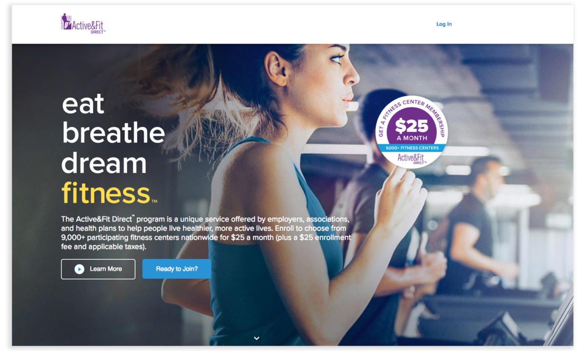 Active&Fit Landing Page